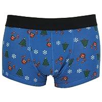 Tom Franks Mens Novelty Christmas Hipster Boxer Trunks