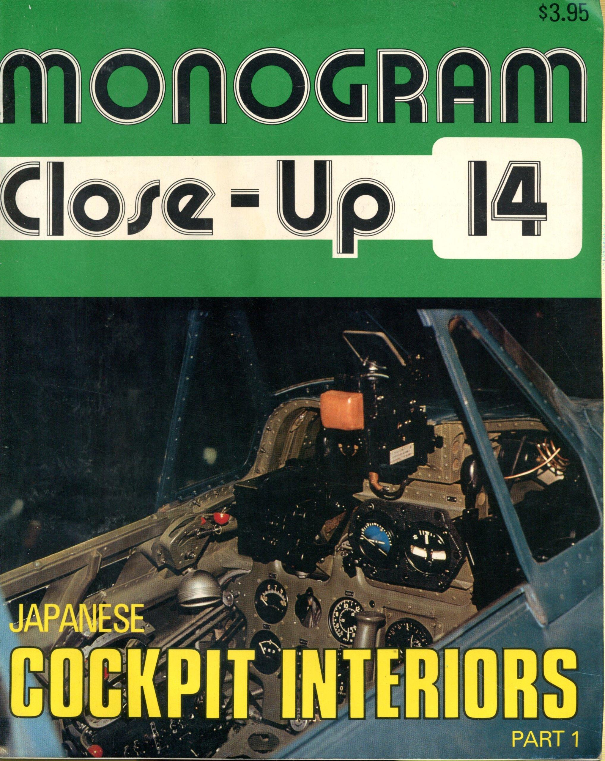 Monogram Close Up 14 Japanese Cockpit Interiors Part 1 Amazon Co Uk Mikesh Robert C 9780914144144 Books