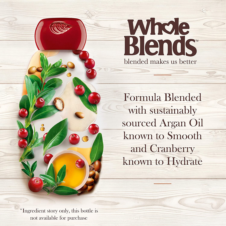 Amazon.com : Garnier Whole Blends Shampoo with Argan Oil & Cranberry ...