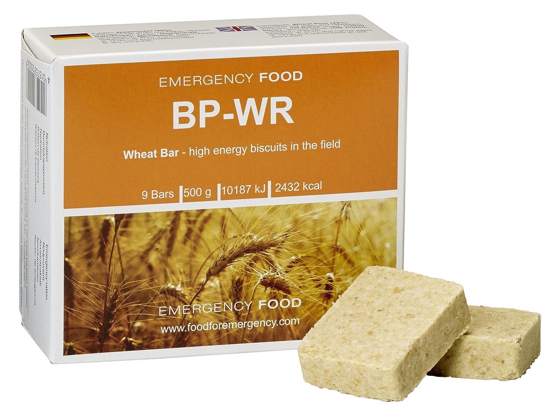BP WR - BP 5 - 24 x 500 gramos de comida para situaciones de emergencia + 1 kilo de semillas de espelta, víveres para abastecimiento de alimentos, ...