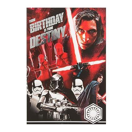Hallmark Star Wars - Tarjeta de cumpleaños