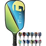 Gamma Poly Core Pickleball Paddle: Pickle Ball Paddles for Indoor & Outdoor Play - Textured Graphite or Composite Surface, Ho