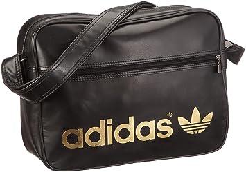 b550416591 Adidas Cartorama V86404 Borsa Tracolla Airline Nera: Amazon.it: Sport e  tempo libero