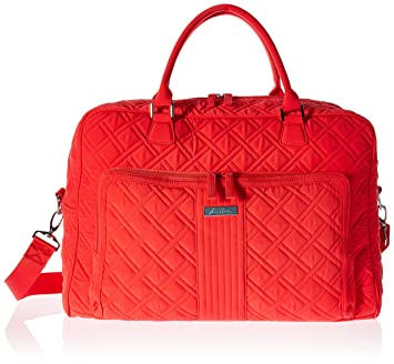 8dba56261e52 Image Unavailable. Image not available for. Color  Vera Bradley Weekender