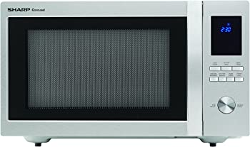 Sharp ZSMC1655BS 1,100W 1.6 cu ft Countertop Microwave Oven