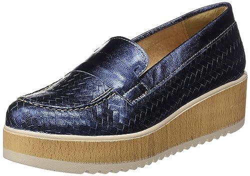 Sotoalto ME0594582, Mocasines Mujer, Azul, 37 EU: Amazon.es: Zapatos y complementos
