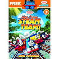 Thomas & Friends - Here Comes the Steam Team [DVD + Free Toy]
