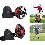Pepper Jack Sports Football/Soccer/Throw Solo Trainer By Indoor & Outdoor Self Practice With Adjustable Waist Belt For Kids & Adults   Boost Control Skills & Accuracy   Includes Carry Bag