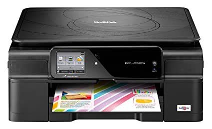 Brother DCPJ552W - Impresora, copiadora y escáner de inyección de Tinta (A4, WiFi, impresión automática por Las 2 Caras), Negro