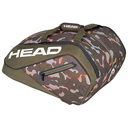 Head Camo Ltd Paletero de Tenis, Blanco, S