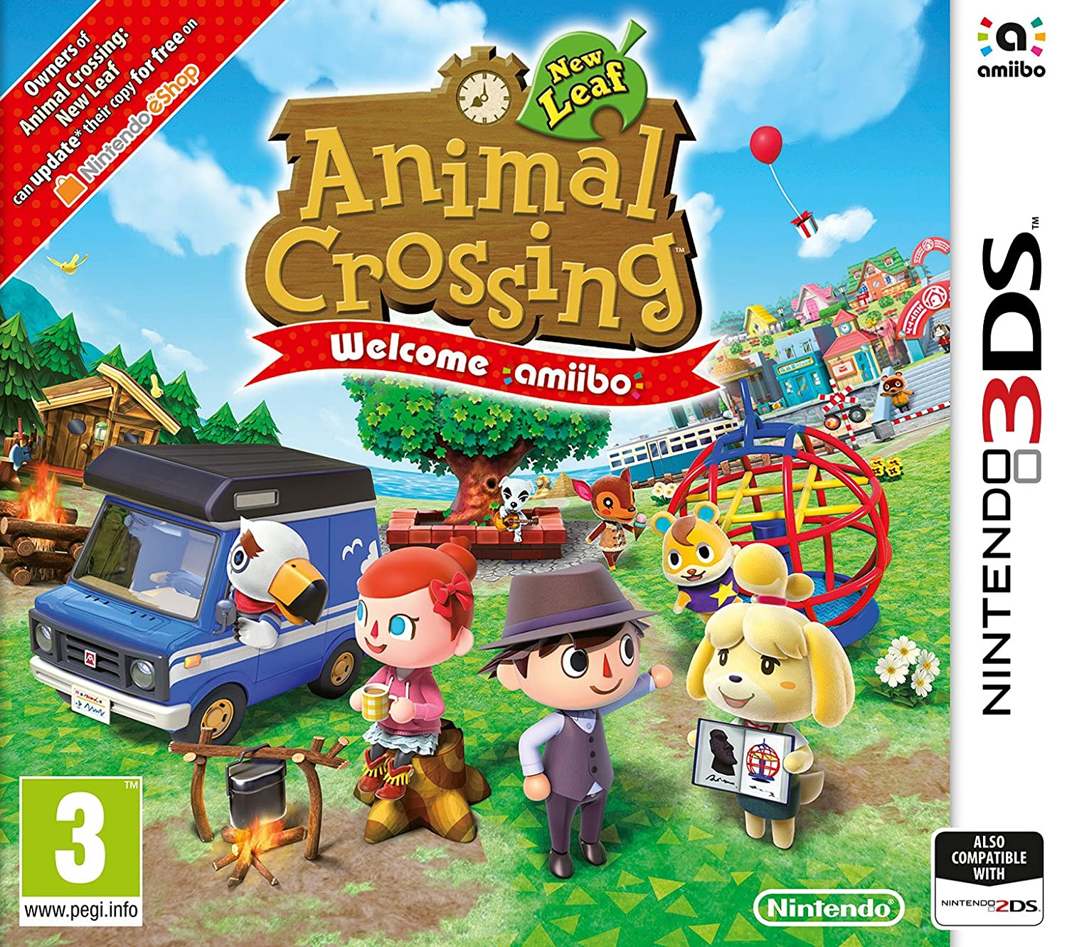 Animal Crossing: New Leaf Welcome amiibo! + Tarjeta amiibo Animal ...