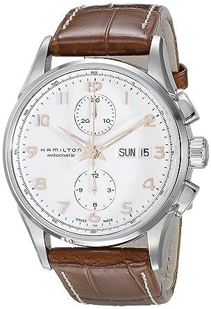 985f8db9df7 Hamilton Jazzmaster Maestro White Dial Leather Strap Mens Watch H32576515