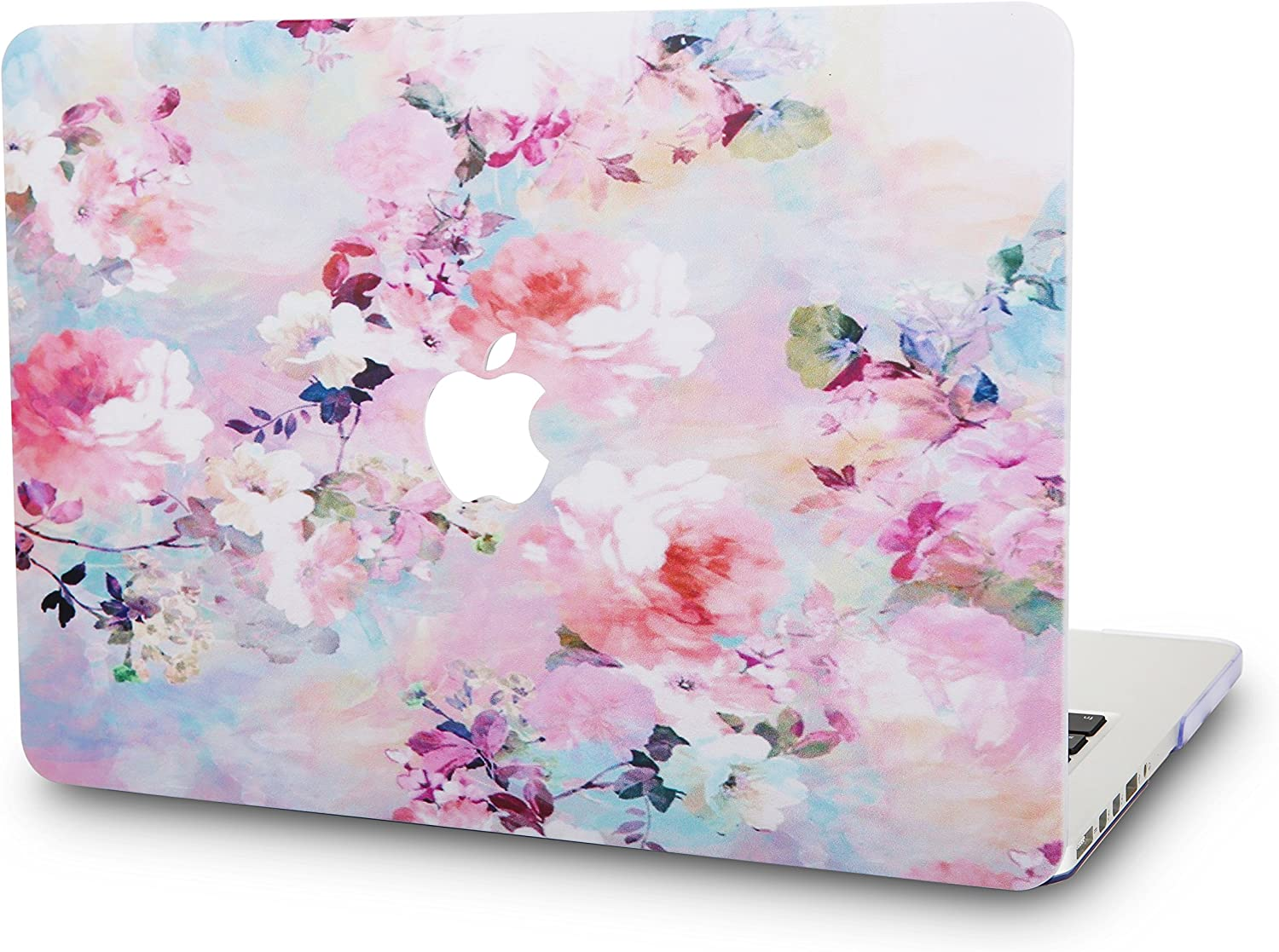 """KECC Laptop Case for MacBook Pro 13"""" (2020/2019/2018/2017/2016) Plastic Hard Shell Cover A2289/A2251/A2159/A1989/A1706/A1708 Touch Bar (Flower 7)"""
