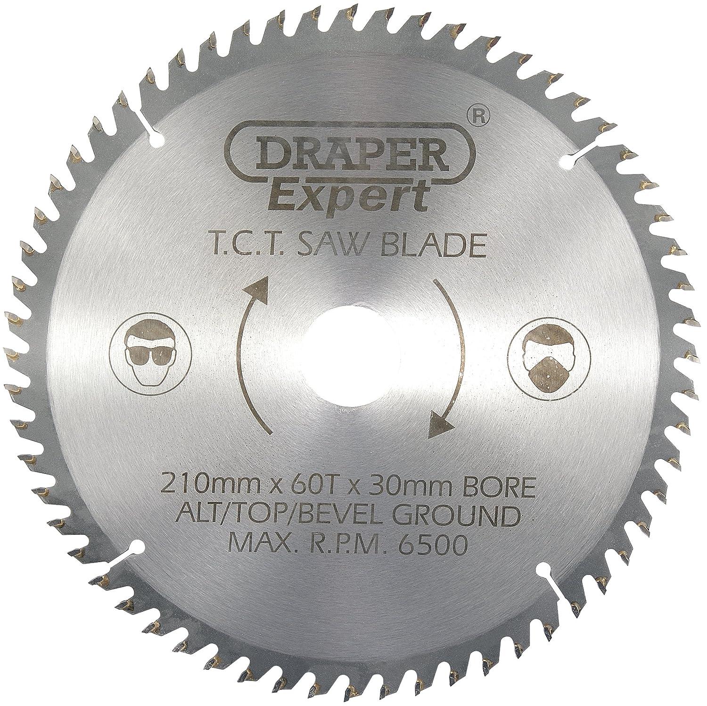 Draper TCT Cuchilla de sierra circular x mm dientes
