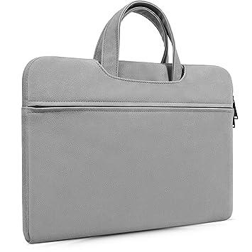 14-15 Inch Premium Leather Laptop Brifecase Bag for ThinkPad X1 Carbon, Lenovo Yoga 920/930 13.9, Acer Chromebook 14/Aspire 14, Dell HP Lenovo ASUS ...