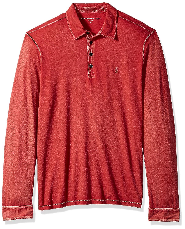 John Varvatos Men's Long Sleeved Polo Aqp4b 621 K3347T3BAQP4B