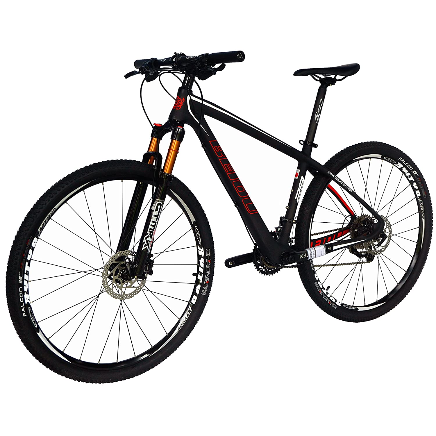 Amazon.com: BEIOU Carbon Fiber 27.5 Mountain Bike 10.7kg ...