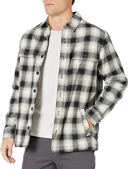 Brand Goodthreads Mens Sherpa Fleece Long-Sleeve Shirt Jacket