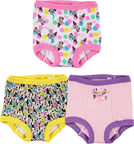 Disney girlsGTP72773-pack Baby and Toddler Potty Training Underwear