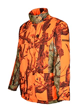 Percussion Grand Nord GhostCamo B&B - Chaqueta de caza, color naranja, tamaño