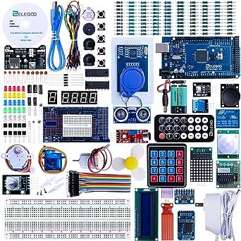 elegoo Mega 2560 Kit Starter proyecto la más completa w/Tutorial para Arduino Mega2560 UNO