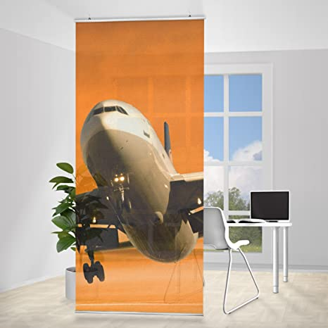 excellent paravent rideau departure incl querre taille x cm panneau japonais rideau coulissant. Black Bedroom Furniture Sets. Home Design Ideas