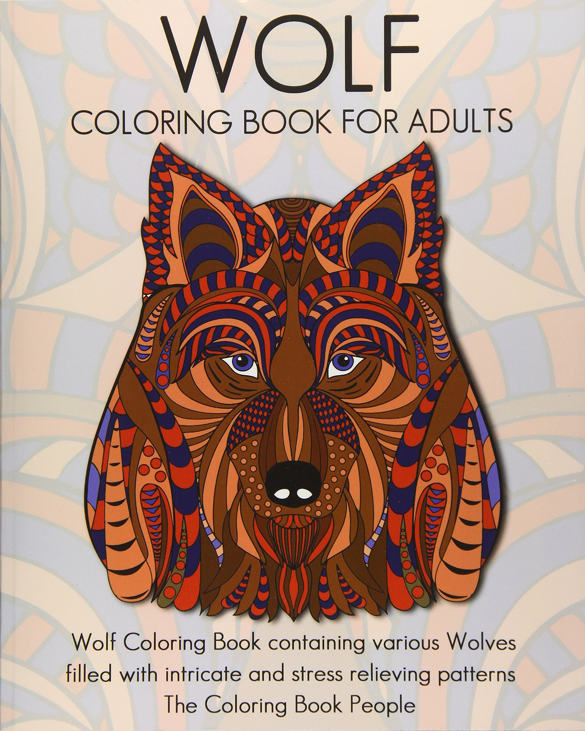 - Amazon.com: Wolf Coloring Book For Adults: Wolf Coloring Book