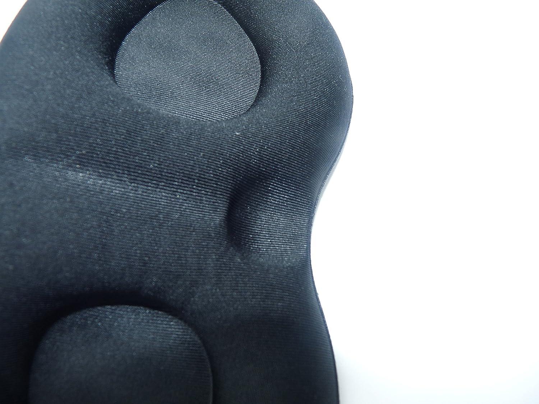 Bllomsem Eye Mask Masque de sommeil de luxe 3D Sponge Contoured confortable Patch Eye et double couche Rebound lente Masque de sommeil pour hommes et femmes