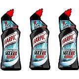 Harpic Gel Power Plus Nettoyant Surpuissant Désinfectant 750 ml - Lot de 3