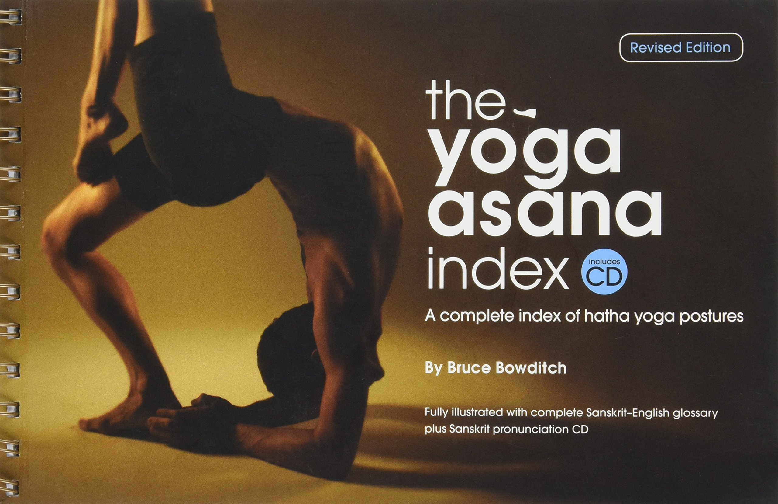 The Yoga Asana Index (book with CD) Revised: Amazon.es ...