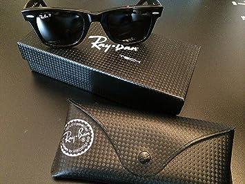 Gafas solares Ray-Ban ® Wayfarer polarizadas: Amazon.es ...