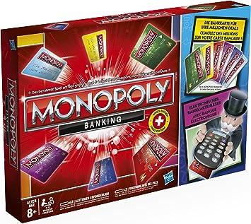 Hasbro - Monopoly electrónico (versión en alemán): Amazon.es: Juguetes y juegos