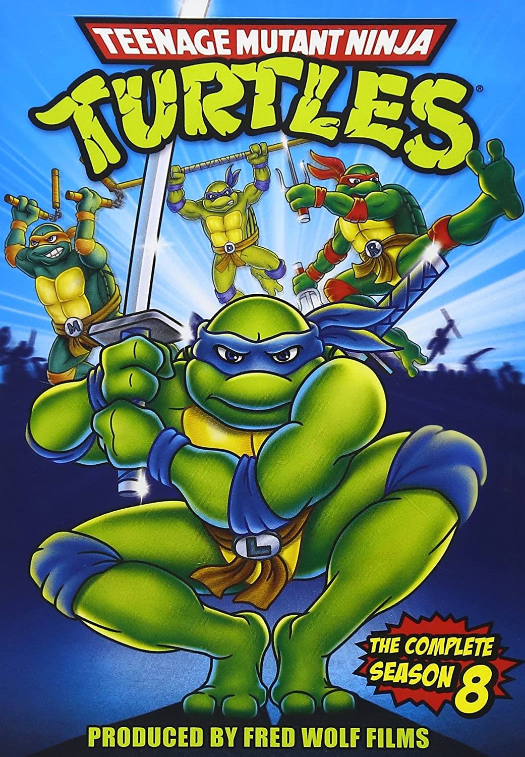 Teenage Mutant Ninja Turtles: Season 8 Reino Unido DVD ...
