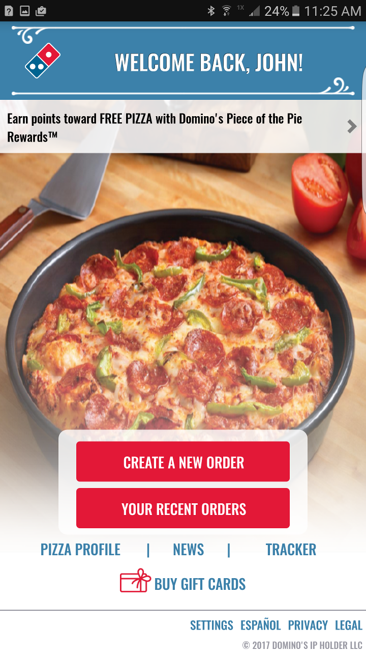 Amazon.com: Domino's Pizza USA: Appstore for Android