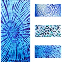 Lyfeguard Sandproof Microfiber Beach Towel, Quick Drying Pool Towels for Women and Men, Compact and Lightweight Towel…