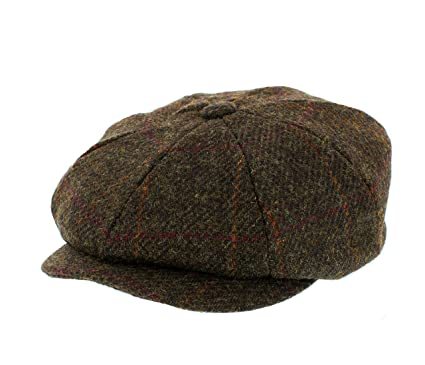 Failsworth Harris Tweed  Carloway  Baker Boy   Newsboy Cap  Amazon ... e80d7c545ae4