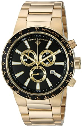Swiss Legend Men's 10057-YG-11-GA Endurance Analog Display Swiss Quartz Gold