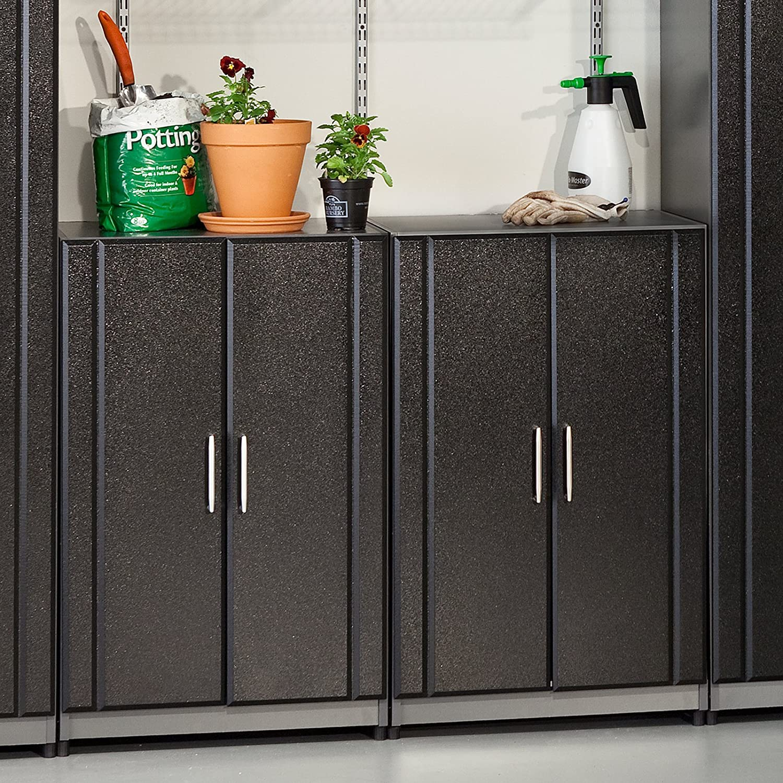 "Amazon.com: 37"" H x 24"" W x 18.63"" D 2 Door Base Cabinet: Kitchen ..."