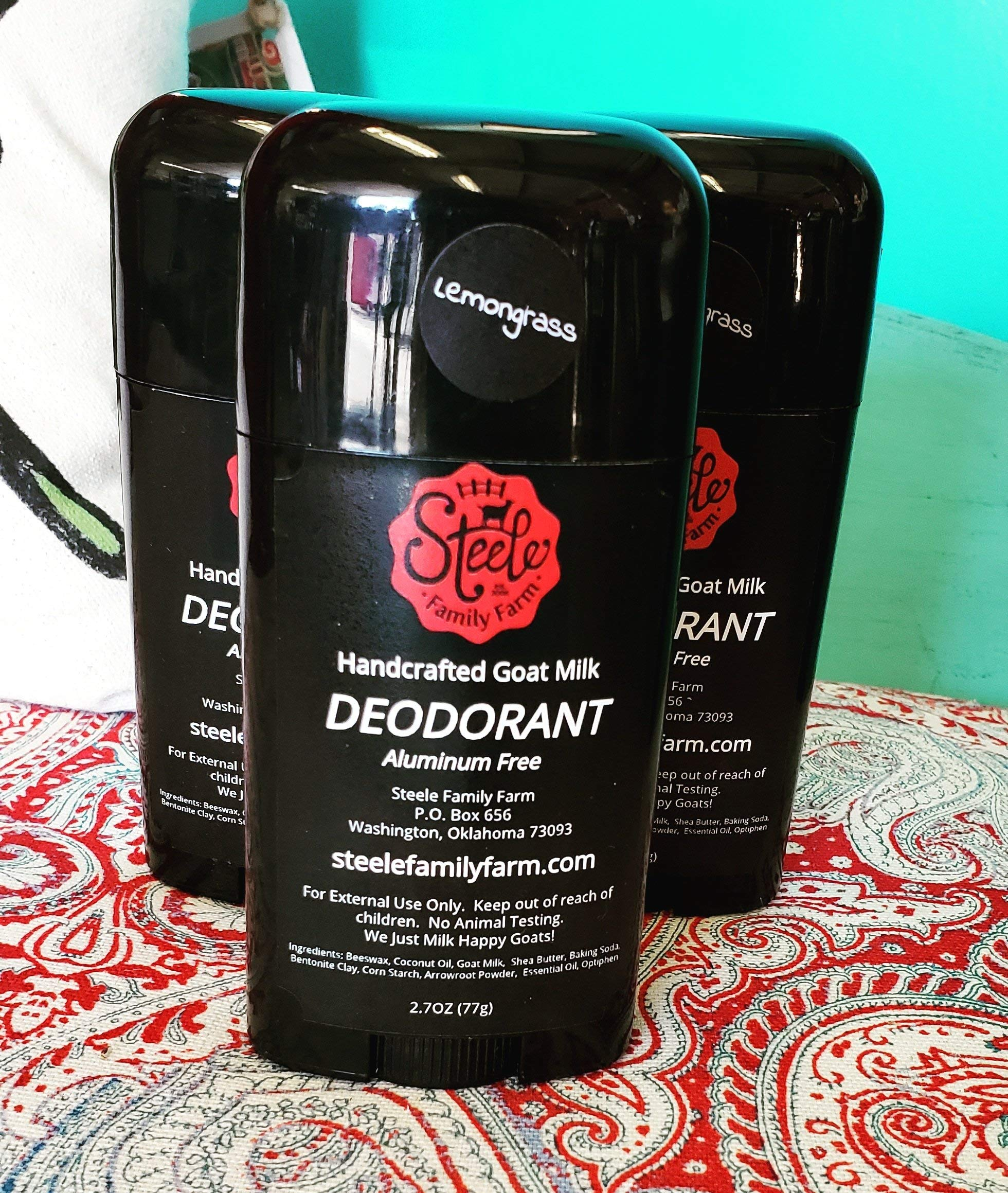 Handcrafted Goat Milk Deodorant by Steele Family Farm