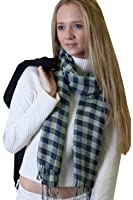 Anika Dali Women's Checkered Plaid Scarves & Shawls in Multiple Patterns