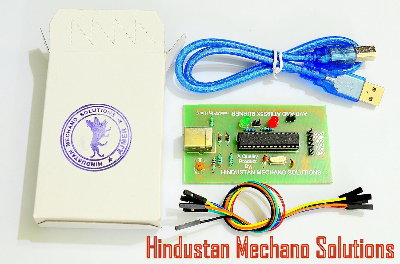 Hindustan Mechano Solutions - AVR and Arduino usbasp / isp USB Programmer