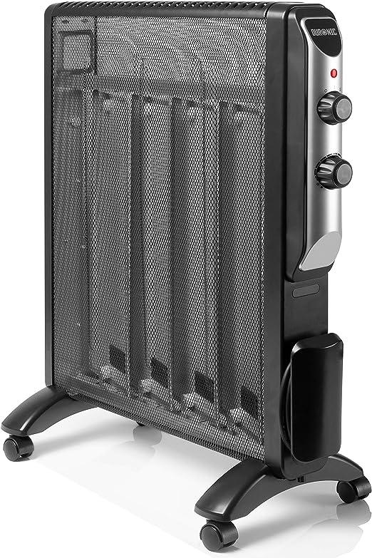 Duronic HV220 Radiador Eléctrico 2000W de Panel de Mica - Estufa ...