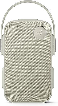 Libratone One Click Bluetooth Lautsprecher 360 Sound Touch Bedienung Ipx4 Spritzwassergeschützt 12 Std Akku Cloudy Grey Audio Hifi