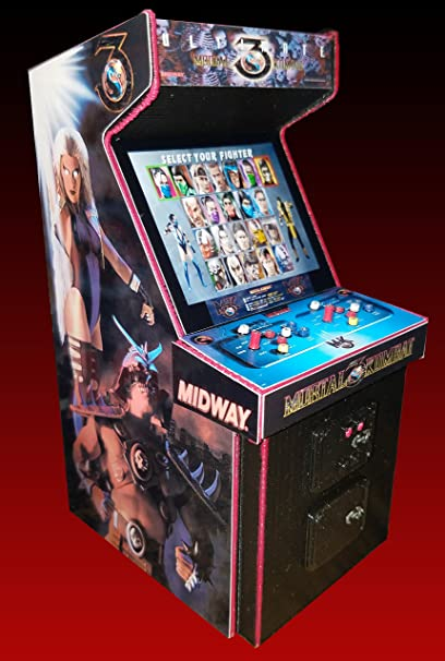 Mini Ultimate MK3 Arcade Cabinet Collectible 5 4 Inch Display (NOT A  MACHINE)