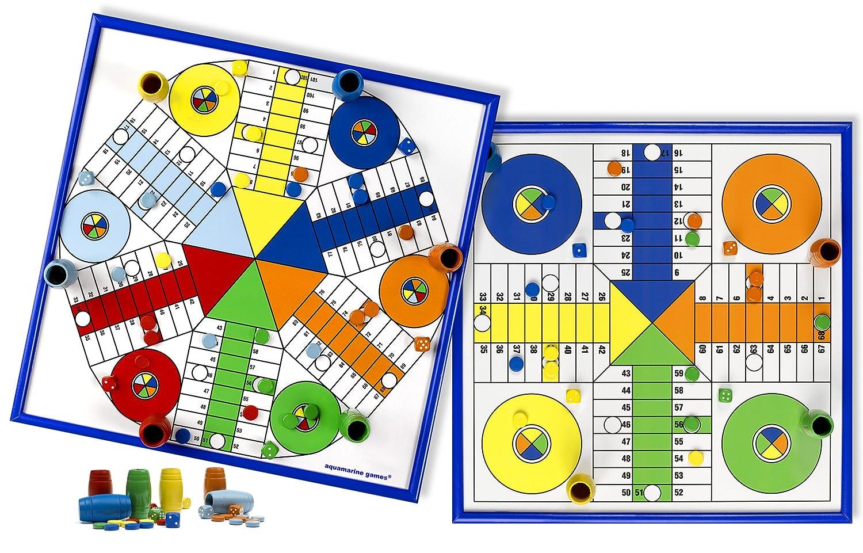 Per 6 E 4 Di Aquamarine Tavolo Games Parchís GiocatoriSet 7v6gbYyf