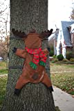 Reindeer Splat Tree Wrap