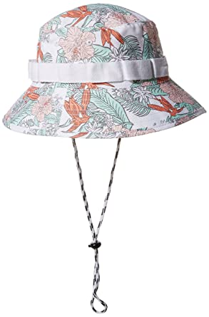 3f58e205f1a Amazon.com  NEFF Women s Paradise Bucket Hat with Chin Strap