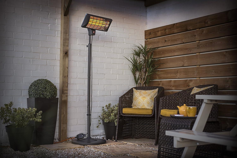 Outdoor Heaters & Fire Pits Garden & Outdoors La Hacienda Grey ...