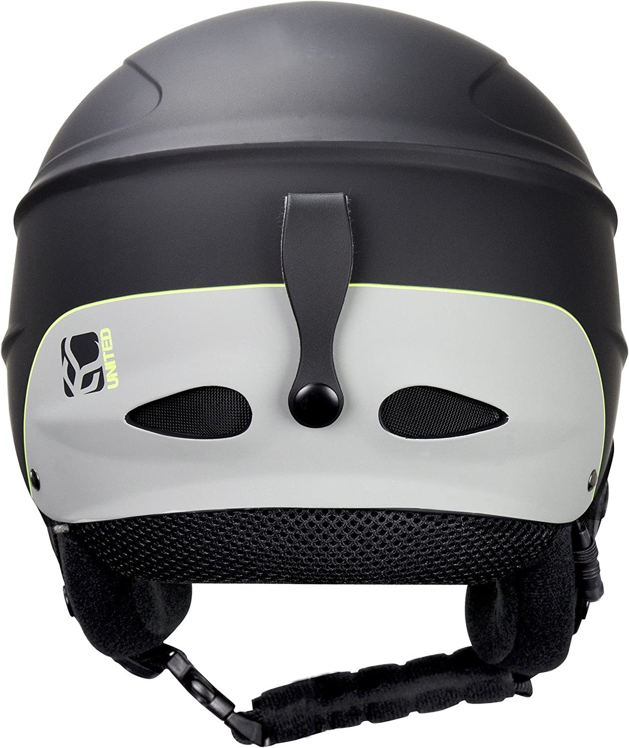 Demon Phantom Helmet with Brainteaser Audio and Free Balaclava Black, Medium