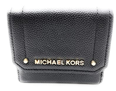 a8813e7bbd62c3 Amazon.com: Michael Kors Hayes Medium Trifold Coin Case Leather ...